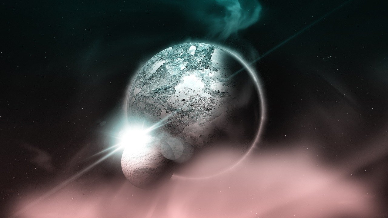 Kraft von Venus und Mond