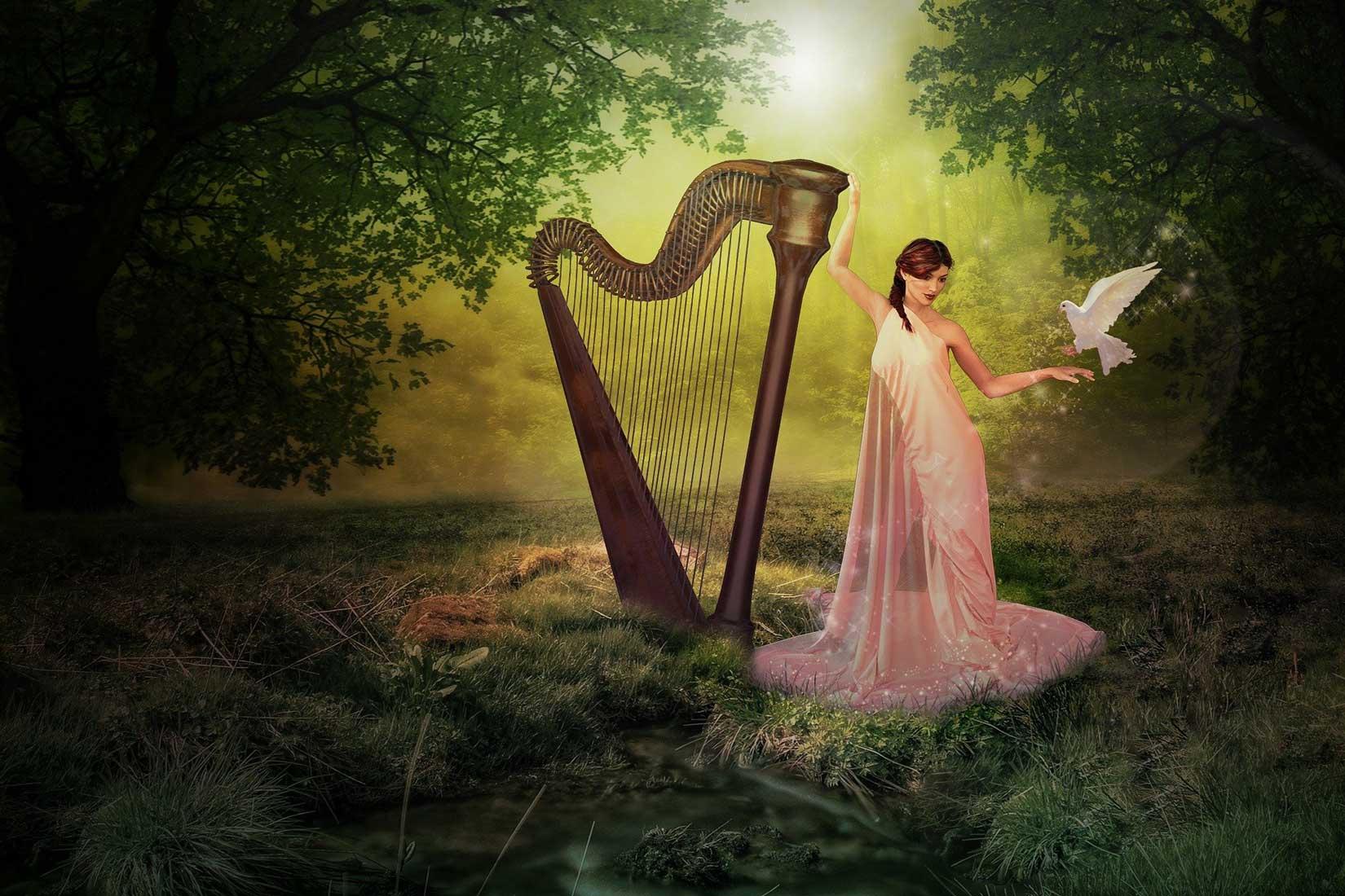 Magische Harfe