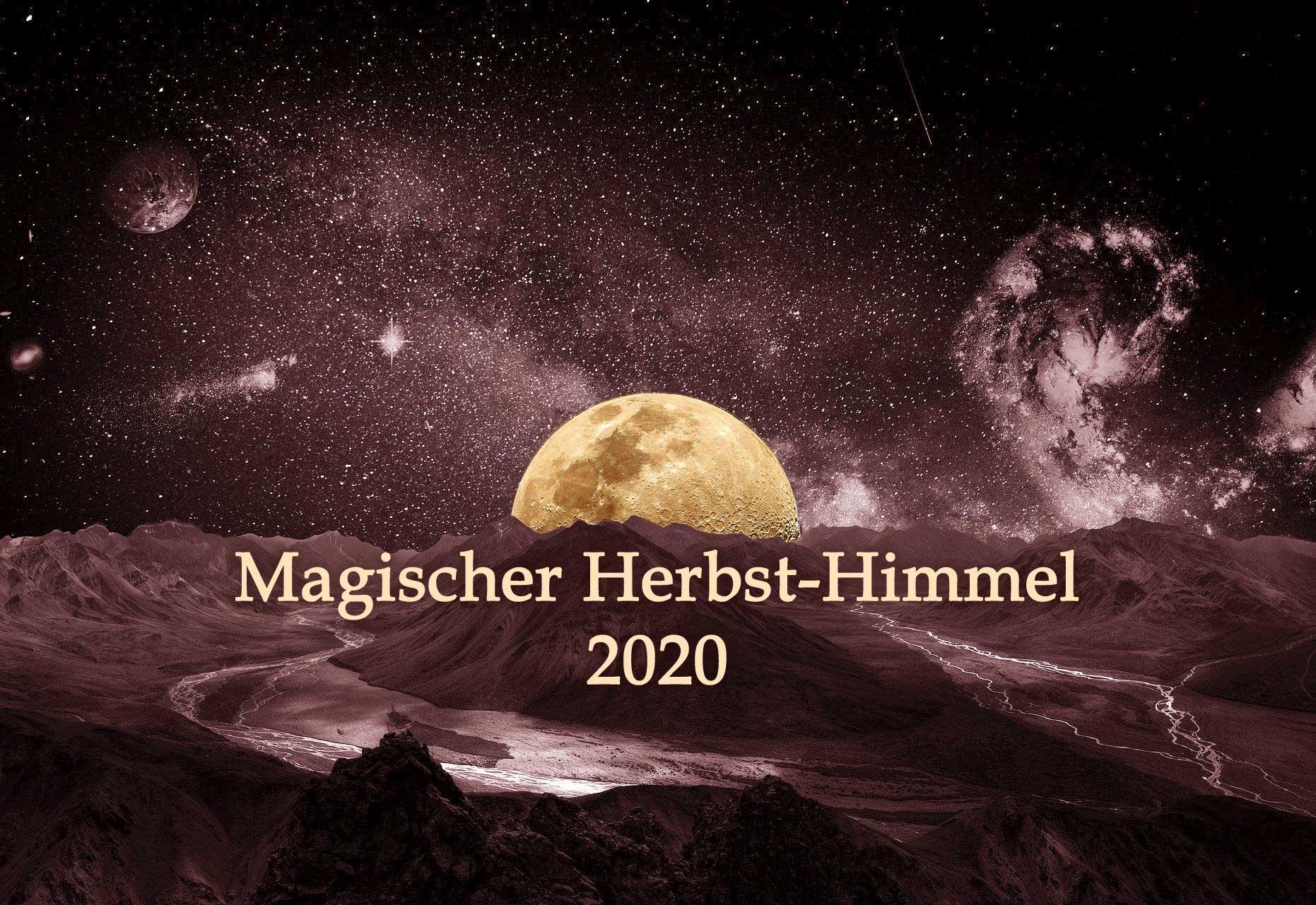 Magischer Herbst-Himmel 2020